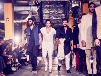 Check out: Best friends Varun Dhawan and Arjun Kapoor turn showstoppers at Lakme Fashion Week 2017