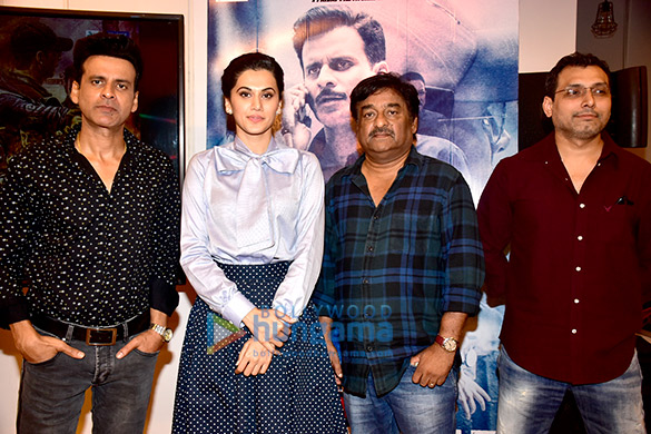 Celebs at the trailer launch of the film 'Naam Shabana'