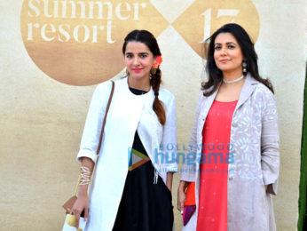 Celebs grace the Lakme Fashion Week 2017 - Day 1