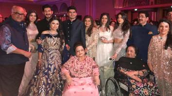 Check out Sonam Kapoor, Arjun Kapoor and Harshavardhan Kapoor dazzle at their cousin Akshay Marwah's big fat Punjabi wedding