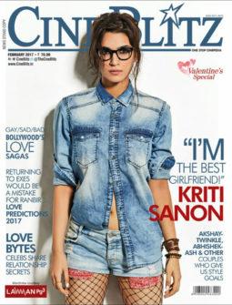 Kriti Sanon On The Cover Of Cine Blitz