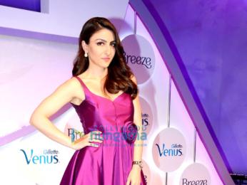 Deepika Padukone, Neha Dhupia and Soha Ali Khan unveil new 'Gillette Venus Breeze'