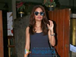 Esha Gupta snapped at Indigo Bandra
