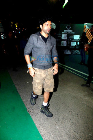 Farhan Akhtar snapped at Mahindra Blues festival