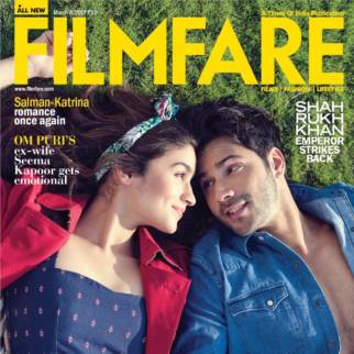 Alia Bhatt, Varun Dhawan On The Cover Of Filmfare