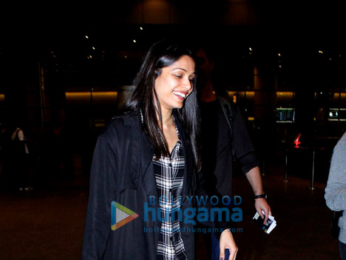 Freida Pinto snapped at the airport