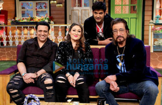 Govinda and Shakti Kapoor snapped on sets of The Kapil Sharma Show
