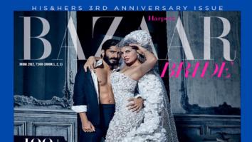 Harshvardhan Kapoor & Jacqueline Fernandez On The Cover Of Harper's Bazaar, Feb 2017