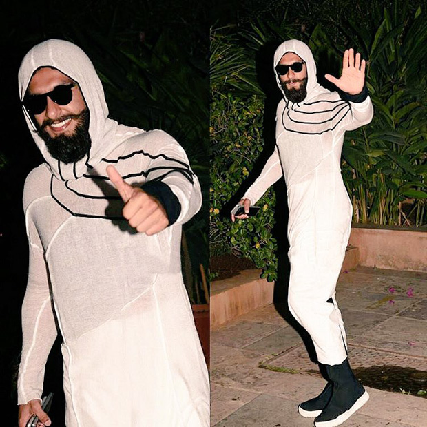 Internet goes crazy trolling Ranveer Singh over his outfit at Shahid Kapoor's pre-birthday bash