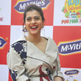 Kajol at the promotion of McVities Biscuit in Delhi