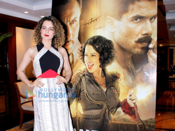 Kangna Ranaut at 'Rangoon's promotions