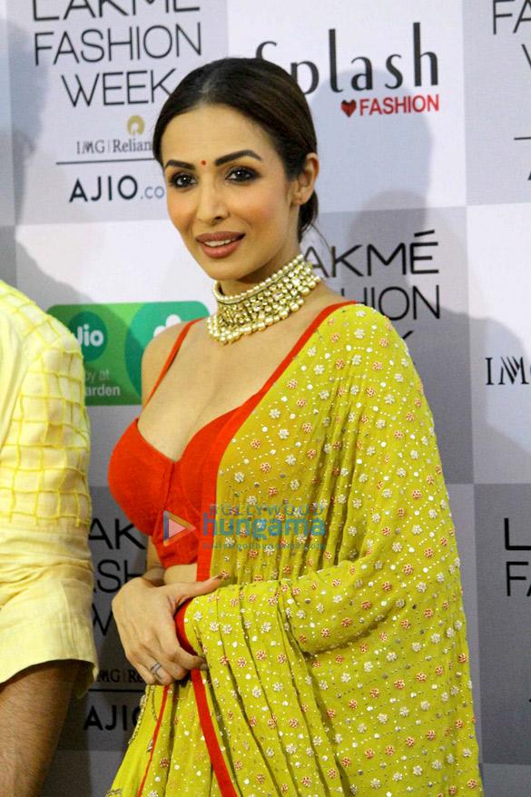Kareena Kapoor Khan, Sushmita Sen, Tabu, Disha Patani walk the ramp at Lakme Fashion Week 2017 – Day 5