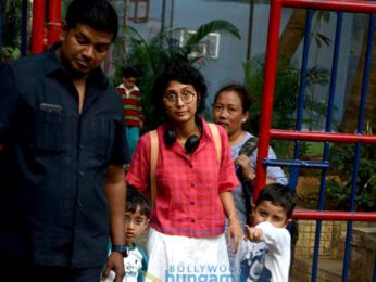 Kiran Rao & Azad Rao snapped in Bandra