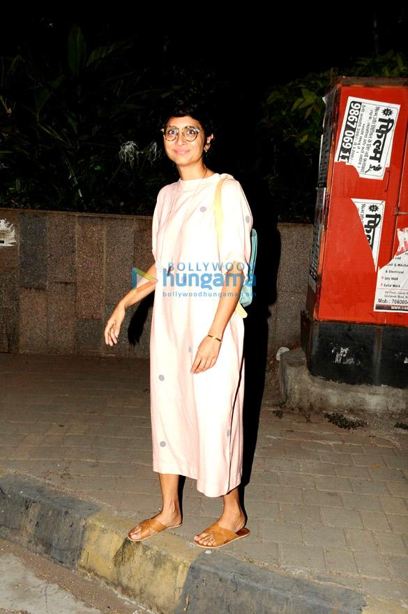 Kiran Rao snapped in Bandra