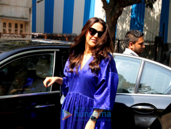 Neha Dhupia snapped in Bandra