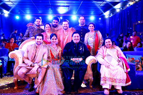 Rishi Kapoor, Pamela Chopra snapped second day of Neil Nitin Mukesh's wedding
