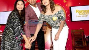 Richa Chadda, Zareen Khan, Chef Maria Goretti and Wrestler Sangram Singh celebrate #FurrentinesDay with Romedy NOW