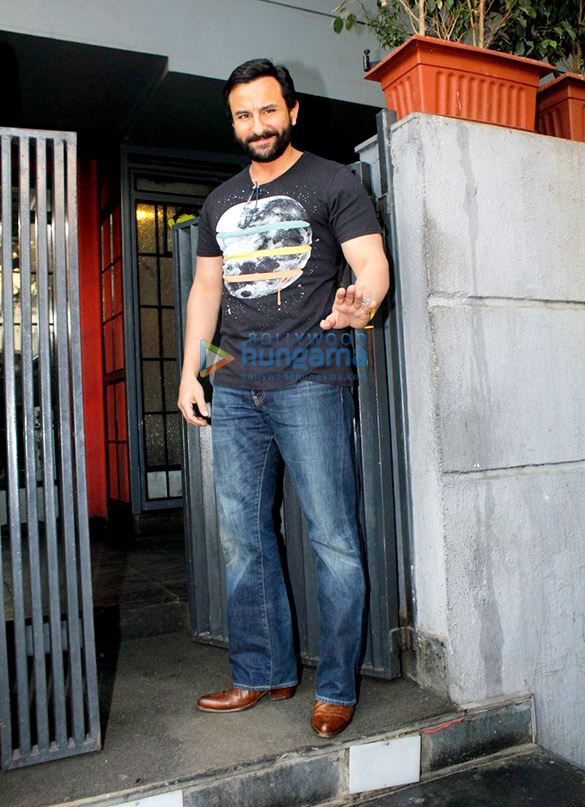 Saif Ali Khan At 'Rangoon's Promotions