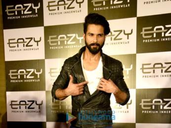 Shahid Kapoor announced as the brand ambassador for Easy innerwear