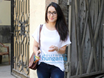 Shraddha Kapoor snapped outside Mohit Suri's office