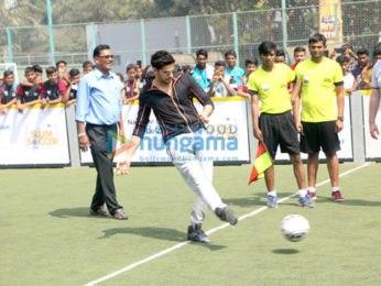 Sidharth Malhotra inaugurates slum soccer 'The National Inclusion Cup - 2017'