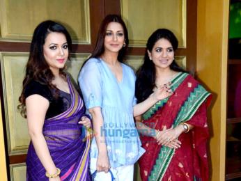 Sonali Bendre at Shaina NC preview at Jhelum store