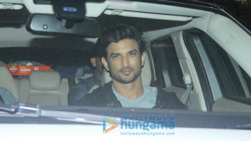 Sushant Singh Rajput, Kriti Sanon, Sonakshi Sinha and many more at the screening of 'Rangoon'