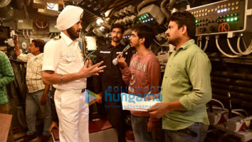 On The Sets Of The Movie The Ghazi Attack