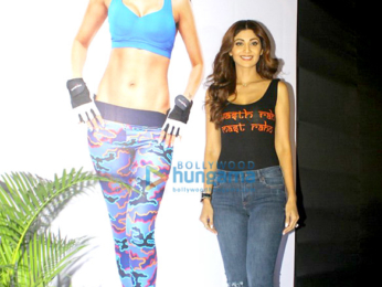 Tiger Shroff graces the launch of Shilpa Shetty's Wellness series