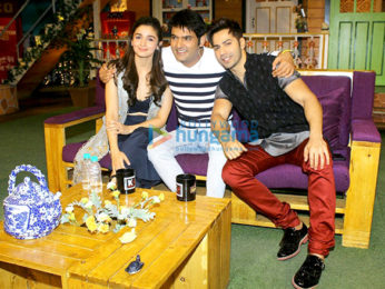 Varun Dhawan, Alia Bhatt promote 'Badrinath Ki Dulhania' on 'The Kapil Sharma Show'