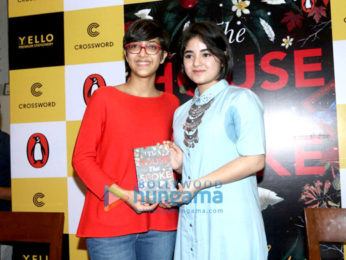 Zaira Wasim & Nita Ambani at the launch of Zuni Chopra's book 'House That Spoke'