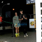 Aarav Kumar snapped at PVR, Juhu with friends