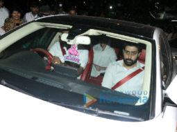 Aishwarya Rai Bachchan and others attend her father Krishnaraj Rai's funeral