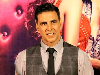 Akshay Kumar graces the launch of the song 'Tu Cheez Badi Hai Mast Mast' from Machine