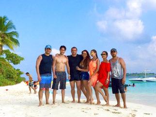 Beach Party: Salman Khan and family Sohail Khan, Malaika Arora, Arbaaz Khan and others have a blast on the beach in Maldives