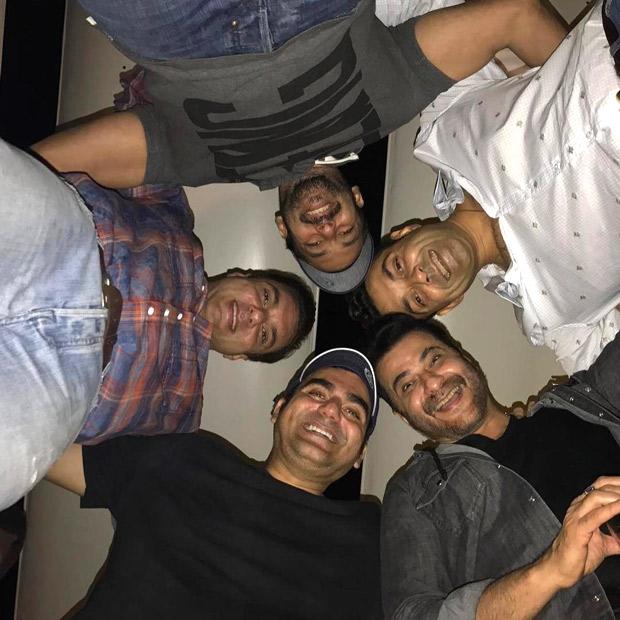 Check out Salman Khan parties along