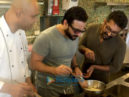 On The Sets Of The Movie Chef