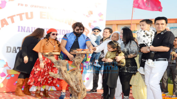 Dr. MSG at the launch of his next film 'Jattu Engineer'