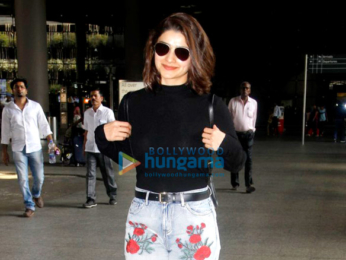 Emraan Hashmi, Farhan Akhtar, Kalki Koechlin and Prachi Desai snapped at the airport