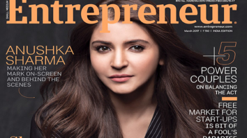 Anushka Sharma On The Cover Of Entrepreneur