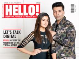 Alia Bhatt, Karan Johar On The Cover Of Hello!
