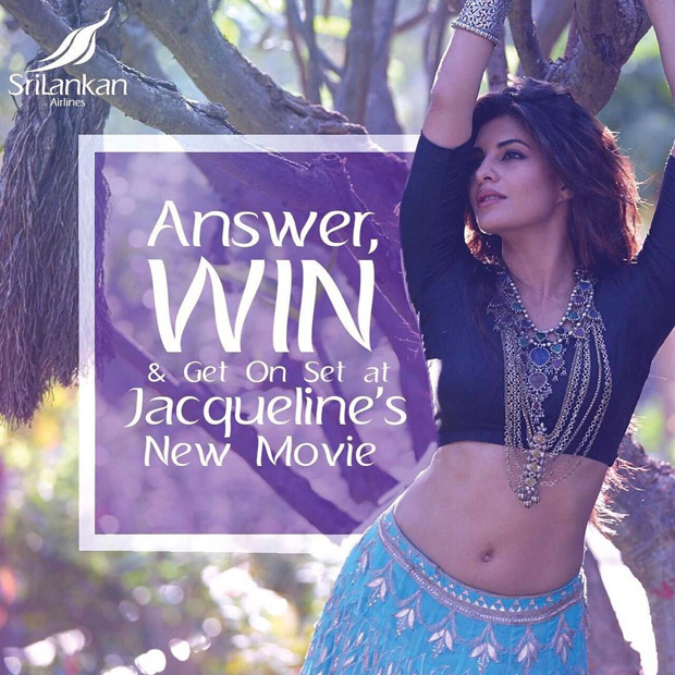 Here's how Jacqueline Fernandez is celebrating 70 years of Sri Lankan airlines