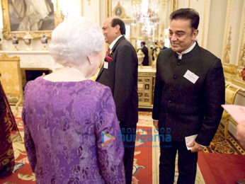 Kamal Haasan meets the Queen of England as a part of Indo-UK cultural celebrations in London