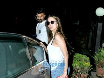 Karisma Kapoor and Malaika Arora Khan snapped in Bandra
