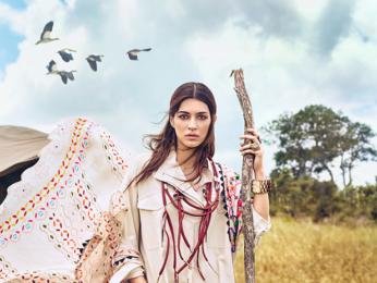 HOT: Kriti Sanon displays her wild side in Vogue photo shoot