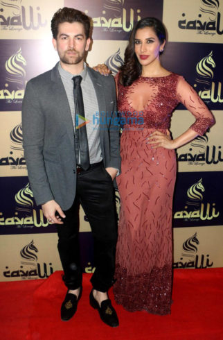 Neil Nitin Mukesh, Sophie Choudry and Urvashi Rautela grace the launch of Cavalli Lounge