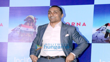 Rahul Bose, Zoya Akhtar & Barkha Dutt at their film Poorna's promotions