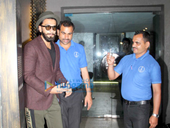 Ranveer Singh, Anushka Manchanda & Anusha Dandekar snapped at Out of the Blue