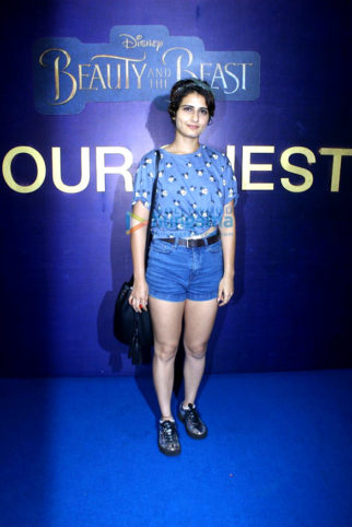 Screening of 'Beauty and the Beast' hosted by Dangal girls