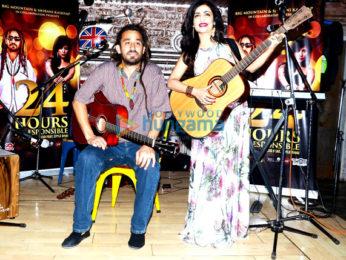 Shibani Kashyap & Reggae Band Big Mountain launch single '24 Hours Irresponsible'